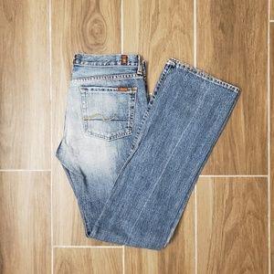 7 For All Mankind straight leg/slight bootcut jean